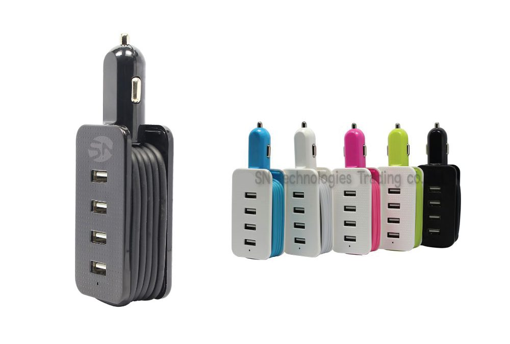 Car Charger 4 Port