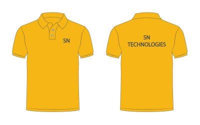 เสื้อโปโล สีเหลือง เสื้อเหลือง