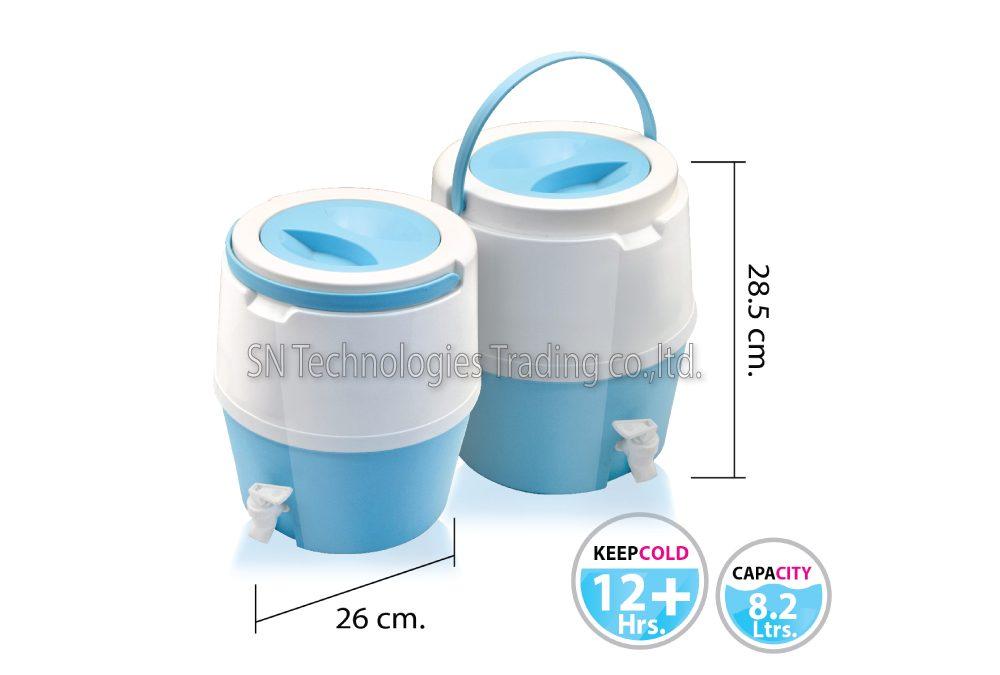 กระติกน้ำ มีก๊อก รุ่น Cooler-M01