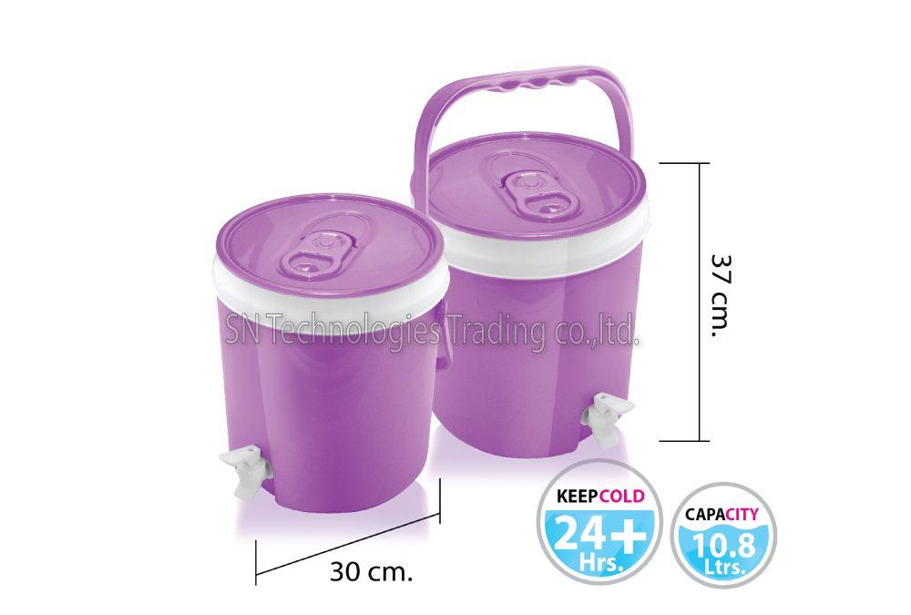 กระติกน้ำ มีก๊อก รุ่น Cooler-M03