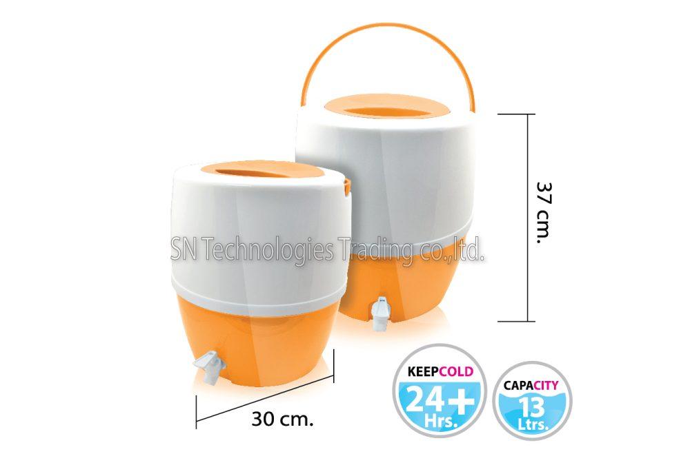 กระติกน้ำ มีก๊อก รุ่น Cooler-M04