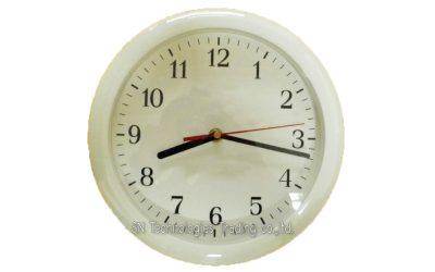 นาฬิกาแขวน 10 นิ้ว ทรงกลม ขอบสี (19)