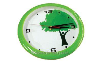 นาฬิกาแขวน 10 นิ้ว ทรงกลม ขอบสี (20)