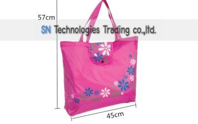 กระเป๋าผ้าพับเก็บได้ (SB-06)