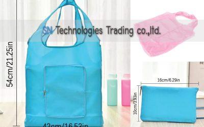 กระเป๋าผ้าพับเก็บได้ (SB-10)