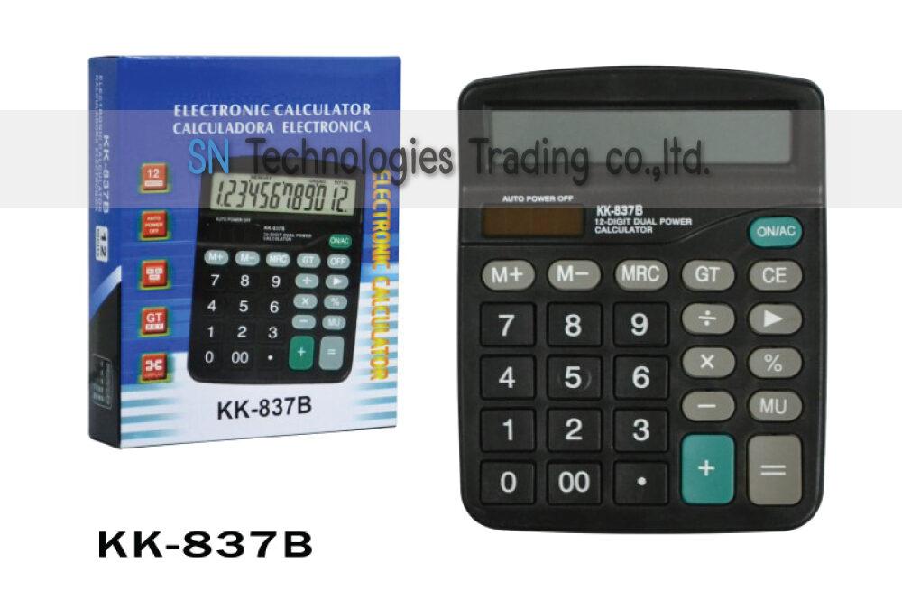 เครื่องคิดเลข KK837B
