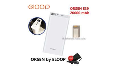 Eloop Orsen E39 แบตสำรอง Powerbank  20000 mAh